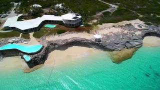 Download Bahamas beachfront home for sale on San Salvador. Video