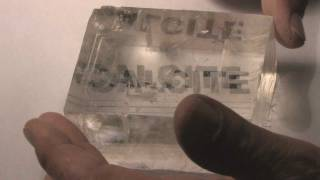 Download Double Refraction in Calcite.wmv Video