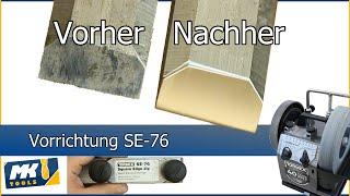Sharpen drill bits with Tormek Drill Bit Sharpening Attachment DBS