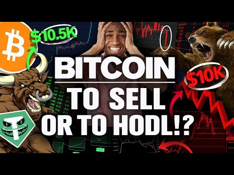 Last Chance to Sell BITCOIN Above $10k!?