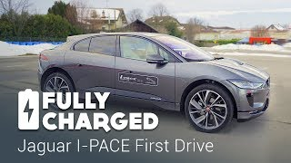 Download Jaguar I-PACE First Drive | Fully Charged Video