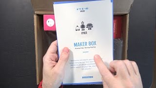 Download Maker Box Quarterly DIY Subscription Box Unboxing! #MKR01 Video