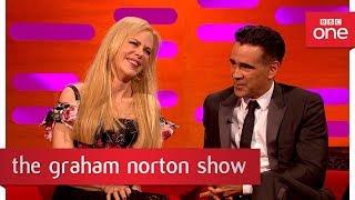 Download Nicole Kidman ruffled by Alexander Skarsgard kiss pic! - The Graham Norton Show: 2017 - BBC One Video