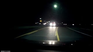 Download Close call in center turn lane, then confused driver with no taillights Video