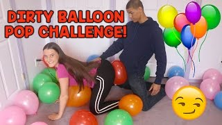 Download DIRTY BALLOON POP CHALLENGE! Video