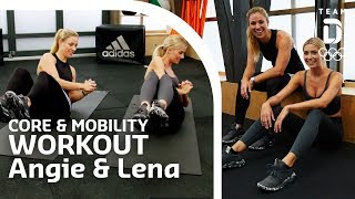 Download Core & Mobility mit Angelique Kerber und Lena Gercke | Trainingshelden Video