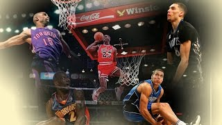 Download Top 10 Best NBA All Star Dunk Contest Dunks - ALL TIME (1984 - 2016) Video