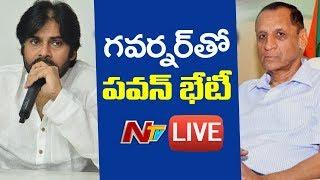 Download Janasena Chief Pawan Kalyan Meet With Governor Narasimhan | NTV LIVE Video