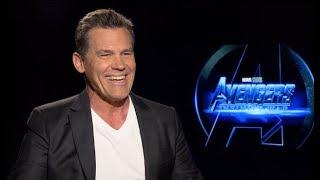 Download Josh Brolin interview - Thanos in AVENGERS INFINITY WAR (unedited) Video