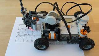 Download LEGO Mindstorms Sudoku Solver Video