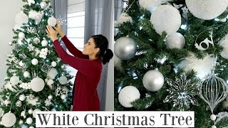 Download Christmas Tree Decorating | How To | White Christmas Tree Video