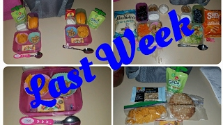 Download Last full week of school lunches! Video