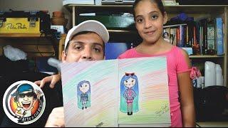 Download Recriando Desenhos das Minhas Filhas!! #1Milhão Video