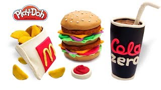 Download Play Doh Mcdonald's. How to make Play Doh Food Menu Mcdonalds. Video for Kids. DIY for Kids Video