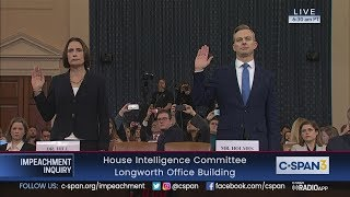 Download House Impeachment Inquiry Hearing - Hill & Holmes Testimony Video