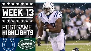 Download Colts vs. Jets | NFL Monday Night Football Week 13 Game Highlights Video