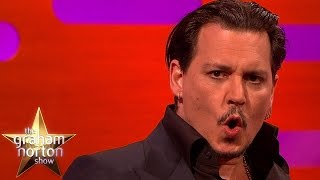 Download Johnny Depp Does A Great Donald Trump Impersonation - The Graham Norton Show Video