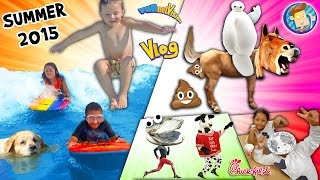 Download Horsey Go Poopy! Baymax is Poofy! Doggy in a Pooly! Cow go Mooey! (SUMMER 2015 FUNnel Vision Vlog) Video