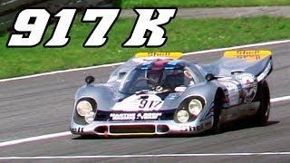Download $ 22 mil Porsche 917 K racing at Nürburgring 2017 (revving & flames) Video