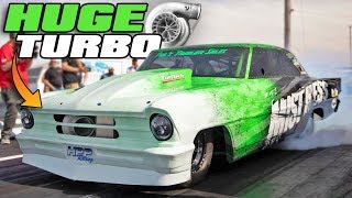 Download His turbo is BIGGER than Larry Larson's 136mm?! Video