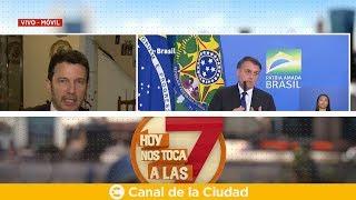 Download Bolsonaro en Argentina: el analista Gustavo Segré con Hoy Nos Toca a las Siete Video
