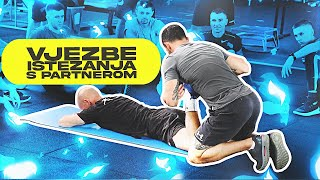 Download Passive stretching with partner Video