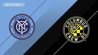 Download HIGHLIGHTS: New York City FC vs. Columbus Crew SC | July 14, 2018 Video