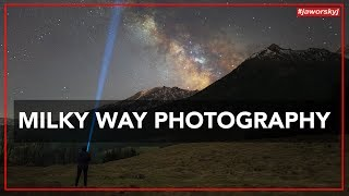 Download MILKY WAY PHOTOGRAPHY 📷 How to - Benjamin Jaworskyj Video