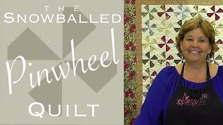 Download The Snowballed Pinwheel Quilt: Easy Quilting with Charm Packs! Video