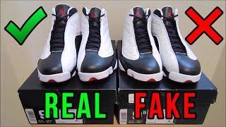 Download Jordan 13 He Got Game Authentic Vs. Fake from eBay Video