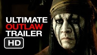 Download The Lone Ranger Ultimate Outlaw Trailer (2013) Johnny Depp, Armie Hammer Movie HD Video