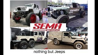 Download Nothing but JEEPS : SEMA 2017 Las Vegas Nevada Video