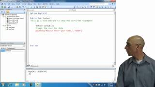 Download Excel Visual Basic Input Box Tips Video