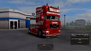 Download (Ets2 1.30)Pimp My Truck #4 Scania Rjl + New Skins Video