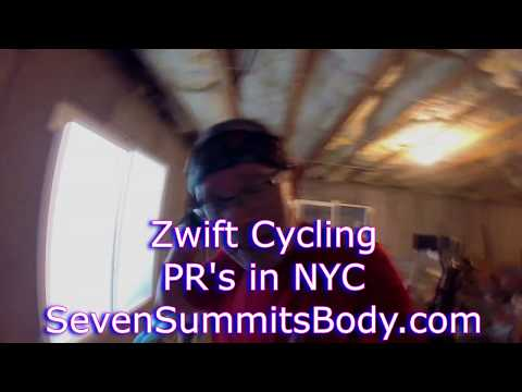 Zwift Cycling - starting back in the groove - Feb 3