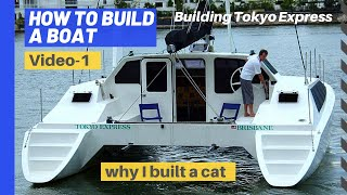Download How to build a boat Ep #1 - Catamaran you can live on Video