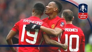 Download Manchester United 4-0 Reading - Emirates FA Cup 2016/17 (R3) | Goals & Highlights Video