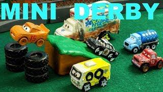 Download Jackson Storm Mini Derby Lightning McQueen has a BIG problem! Video