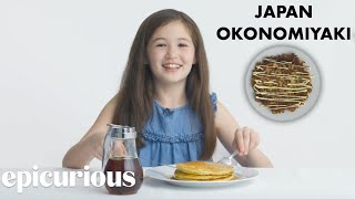 Download Kids Try 10 Kinds of Pancakes from Around the World | Bon Appétit Video