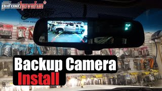 Download How to Install a Backup Camera Video
