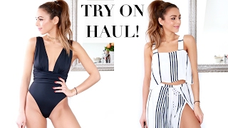 Download VACATION & SWIMWEAR TRY ON HAUL | Annie Jaffrey Video