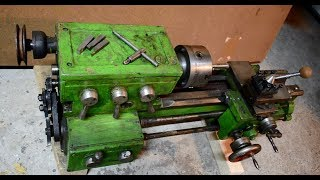 Download Lathe restoration. Simple lathe stand. Video