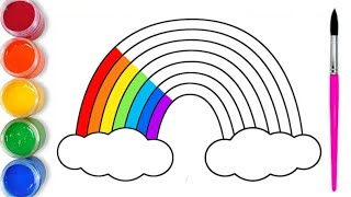 Download Como Dibujar y Pintar un Arco iris | Videos para Niños | Colores para Niños Video