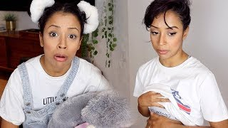 Download PREGNANT LOOKING?! ASKING MY YOUNGER SELF Video