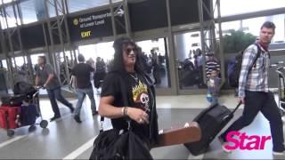 Download Slash at LAX Airport Video