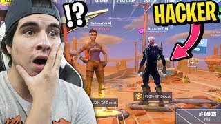 Download ENCONTRE A UN HACKER CON SKIN ILEGAL!! Fortnite y sus skins PROHIBIDAS!! Video