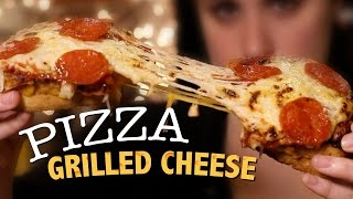 Download DIY Pizza Grilled Cheese Video