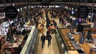 Download Mercado da Ribeira, Lisboa, Portugal Video