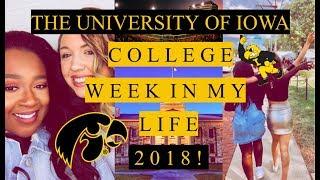 Download UNIVERSITY OF IOWA | COLLEGE WEEK IN MY LIFE 2018! Video