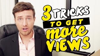Download How To Get More Views On YouTube: 3 Easy Tricks! [Tutorial] Video